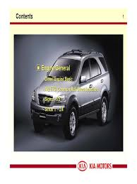 kia motor repair manual 1 diesel engine fuel injection