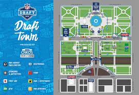 Chicago Attractions Map 2017 Nfl Draft In Philly Who Foots The Bill