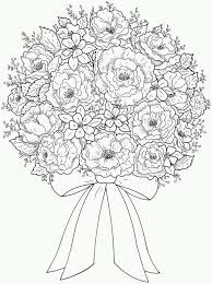 Hard Flower Coloring Pages - 5861 best coloring images on pinterest coloring books drawings