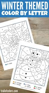 coloring pages color by letter worksheets preschool and