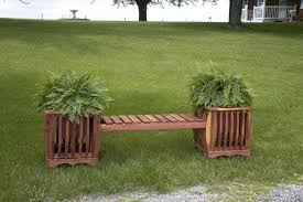 Creative Benches Outdoor U0026 Garden Creative Amish Cedar Patio Bench And Side