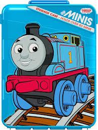 amazon com thomas u0026 friends minis storage case train toys u0026 games