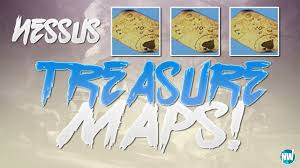 Treasure Maps Destiny 2 All Nessus Treasure Map Locations How To Find Cayde U0027s