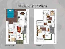 ground floor first floor home plan caribbean house plans v1
