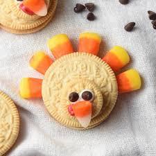 easy no bake thanksgiving treats edible crafts