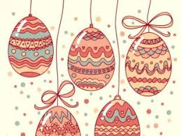 easter decorative template free vector free vectors ui download
