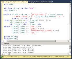 map login map user login sql server all mismatched sid sql server