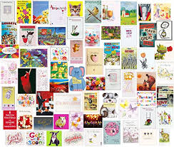 60 wholesale mixed bulk selection pack of birthday greeting