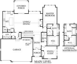 centralized floor plan aspen rodrock homes