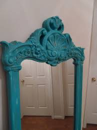 shabby chic vintage full length dressing mirror in by wildattic