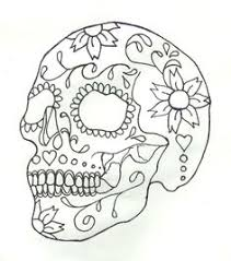 dead coloring pages adults skull coloring pages