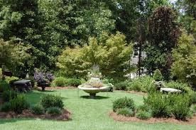 landscaping with trees adding visual variety