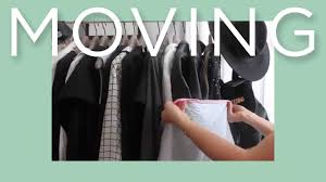 how to move your clothes to a new closet youtube