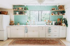 backsplash for kitchen without cabinets design trends styling your kitchen with open fireclay tile