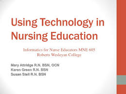wesleyan rn to bsn techonology in nursing education