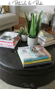 Decorating Ideas For Coffee Table How To Style A Coffee Table Decor Fix