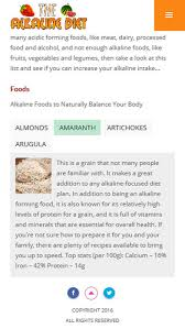 alkaline diet plan alkaline diet foods u0026 benefits on the app store