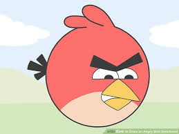 draw angry bird emotions 15 steps pictures
