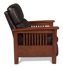 Lane Benson Sofa by Benson Pushback Recliner Chocolate Levin Furniture