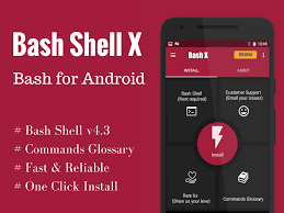 bash shell x free root android apps on google play
