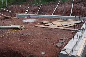 river run cabin cuchara colorado prep for basement walls