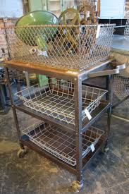 Industrial Kitchen Cart by 46 Best Metal Carts Images On Pinterest Vintage Industrial