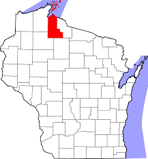 Wisconsin Map by File Map Of Wisconsin Highlighting Ashland County Svg Wikipedia