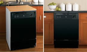 Install A Dishwasher In An Existing Kitchen Cabinet How To Use A Portable Dishwasher Overstock Com