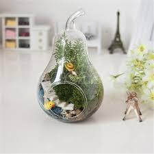 pear home decor aliexpress com buy home decor pear crystal glass vase planter