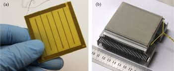 thermal management of thermoacoustic sound projectors using a free