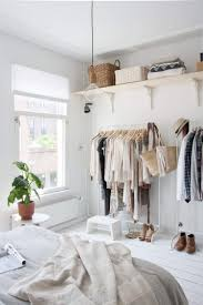Schlafzimmer Schrank Ordnung Kleiderstange Statt Kleiderschrank Ideen Für Modeliebhaber