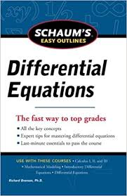 easy outlines download e books schaum s easy outline of differential equations