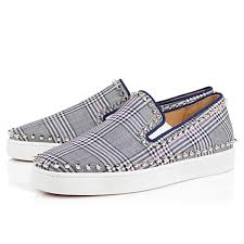 essential christian louboutin tartan shoes da man magazine