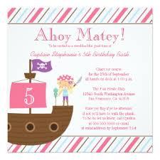 pirate birthday invitations u0026 announcements zazzle