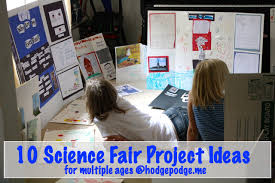 10 science fair project ideas hodgepodge