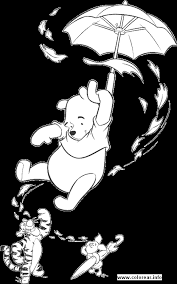 winnie pooh printable coloring pages