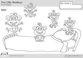 printable coloring pages monkeys literarywondrousle monkeys coloring pages printable colouring sheets
