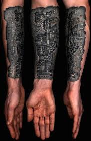 20 amazing biomechanical tattoos smosh