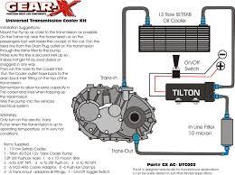 gxac utc002 gear x transmission cooler kit u2013 special projects