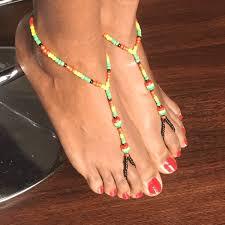 barefoot sandals rasta color barefoot sandals