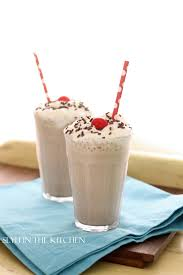 milkshake photography chocolate espresso milkshake slyh in the kitchen