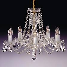 Shabby Chic Chandeliers by Czech Crystal Chandelier Shabby Chic Chandelier Golden