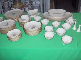 61 pc set vintage lenox china wheat r442 1960 s ebay