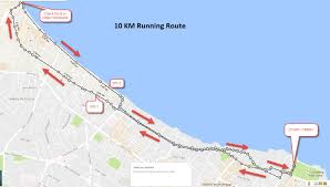 Map Your Running Route by Larian Belia Malaysia Howei Online Event Registration Cycling