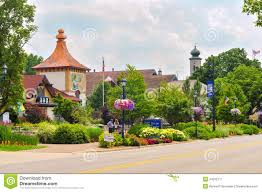 Frankenmuth Michigan Map by Riverplace Shops In Frankenmuth Michigan Editorial Photo Image