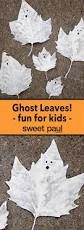 Halloween Crafts For 8 Year Olds Ghost Leaves Diy From Leah Michaelson Of Family U0026 Craft Markers