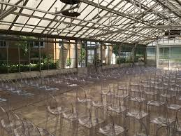 Greenhouse Windows by Inside The Greenhouse With Chairs For Wedding See Air