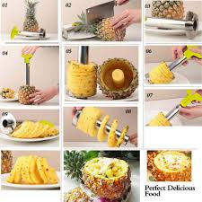 pineapple peeler slicers unique cooking utensils free shipping
