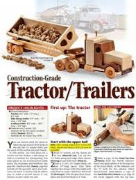 Make Wooden Toy Trucks by 1791 Wooden Truck And Trailer Plan Wooden Toy Plans Wooden Toy