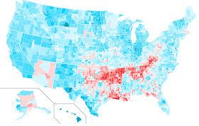 1984 Presidential Election Map by Acela Vs Appalachia Pa Presidential Results Since 1976 Politicspa